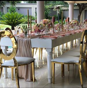 Event furniture for hire