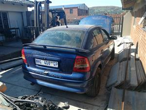 OPEL ASTRRA G L&R FRONT DOORS FOR SALE, SHELL OR COMPLETE