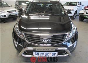 2013 Kia Sportage 2.0CRDi 4x4