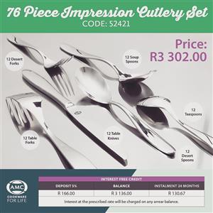 Impression Cutlery set