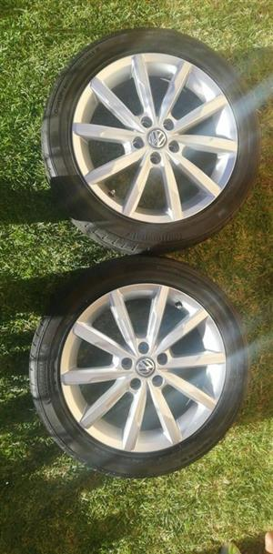 16inch rims&tyres For tsi vw