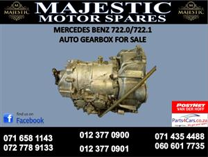 Mercedes benz 722.0 auto gearbox for sale