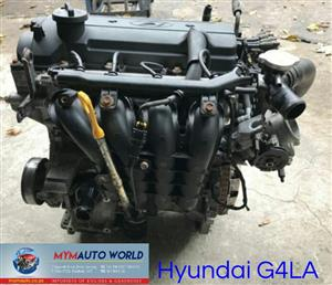 Imported used  HYUNDAI I10/I20, G4LA engines. Complete second hand used engine