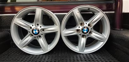 X2 16 BMW OEM Mag Rims