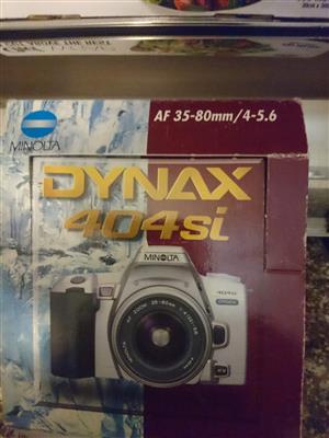Minolta dynax 400sl camera