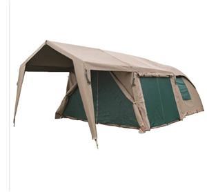 Tent for Sale: Campmor Canvas Combo Senior 3 x 3 Dome tent with Extension & Verandah