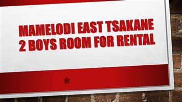 MAMELODI EAST TSAKANE 2 boys room for rental