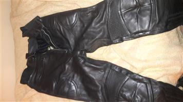 Leather pants 36 waist