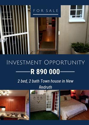 2 bedroom Duplex for sale in New Redruth, Alberton