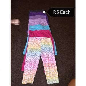 Various colored pajama pants