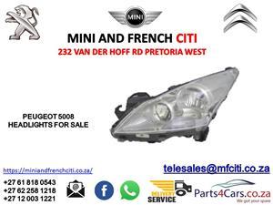 Peugeot 5008 Headlights for sale