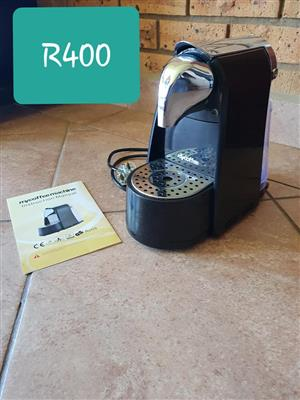 My coffee machine for sale