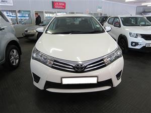 2014 Toyota Corolla 1.4D 4D Esteem