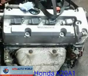 Imported used engines, HONDA STREAM 2.0L 16V VTEC,K20A1, Complete second hand used engines