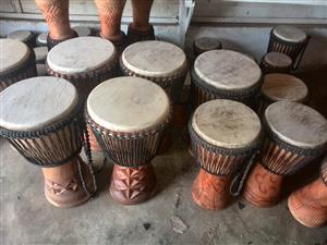 Djembe drums and Marimbas for sale, live Performances
