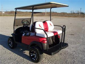 Four Seater Gas Golf Cart