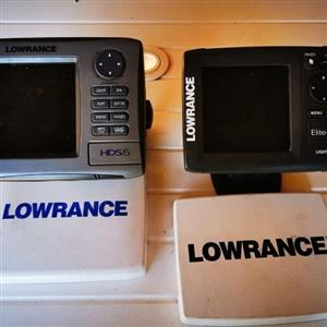 Lowrance GPS and Fishfinder For Sale