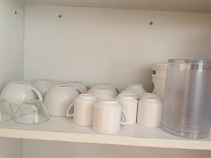 Large and medium sized mugs