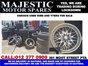 Mercedes benz audi bmw used rims and tyers for sale