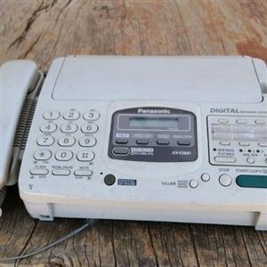 panasonic fax masjien