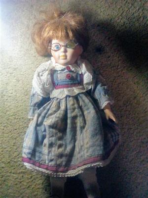Doll for sale .