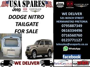 dodge nitro tailgate for sale