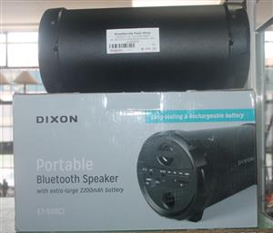 Dixon portable blue tooth speaker S046220A #Rosettenvillepawnshop