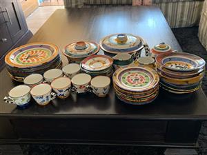 Ceramic eating set for sale