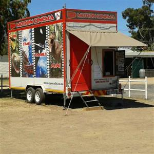 5D mobile motion cinema and Bakkie