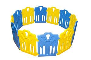 Safe Fence Playpen – Blue & Yellow (Large)