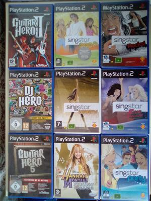 PS2 Musical Games.