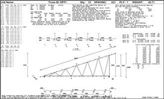 Roof trusses - Make an offer