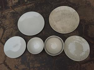 Urgent Catering Dinner Plates for Sale (price negotiable)