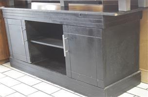 Black plasma stand S037422A #Rosettenvillepawnshop