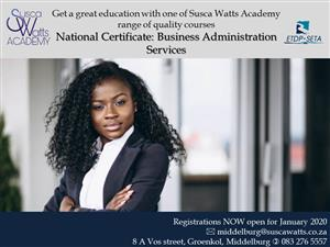 National Certificate Business Administration Level 4