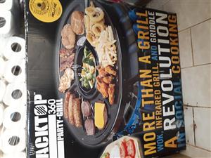 New Blacktop 360 Party-Grill for sale