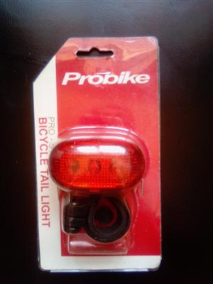 ProBike Tail light. Brand new sealed.