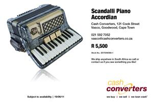 Scandalli Piano Accordian