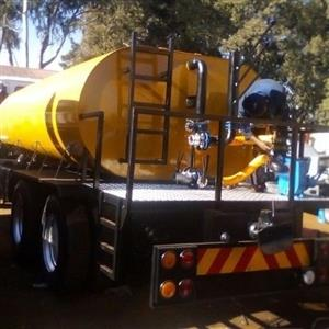water tanker manufacturing with hydraulic