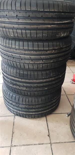 Brand new runflat tyres