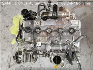 ISUZU KB250 -4JK1 2.5L TURBO DIESEL EFI 16V Engine -COMMON RAIL -TOP OIL FILTER