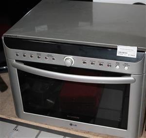 S034642A LG solardom microwave silver #Rosettenvillepawnshop