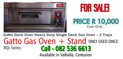 GATTO Gas Oven