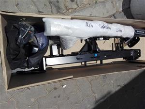 Kia sportage toolbar with chrome protector