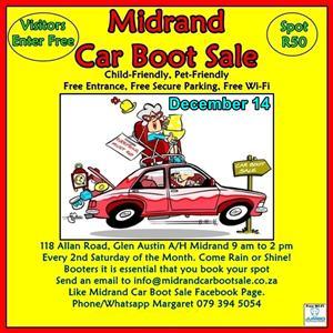 Midrand Car Boot Sale