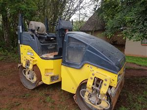2 x Bomag BW120AD rollers for sale