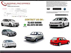 SPECIALISING IN VW GOLF AUTOMOTIVE NEW PARTS.Body Parts,bumper,bonners,headlights ,Accessories