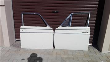 FORD CORTINA MK1 4 DOOR RUST FREE DOOR SHELLS ONLY - SOLD AS A SET