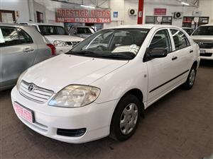 2006 Toyota Corolla 1.4 Advanced