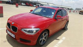2014 BMW 1 Series 116i 5 door Sport auto